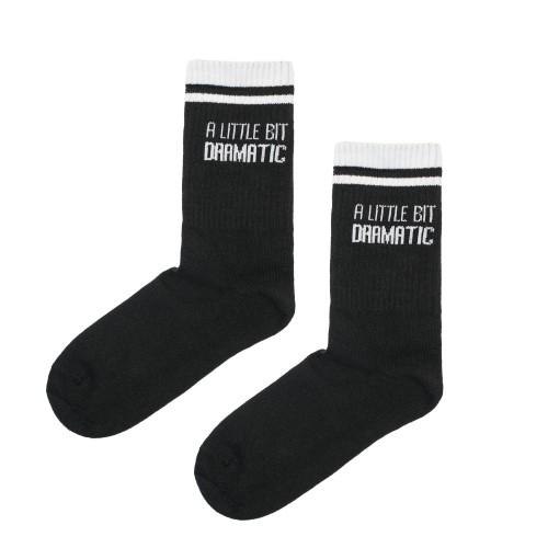 #07 Kojinės DRAMATIC, juodos