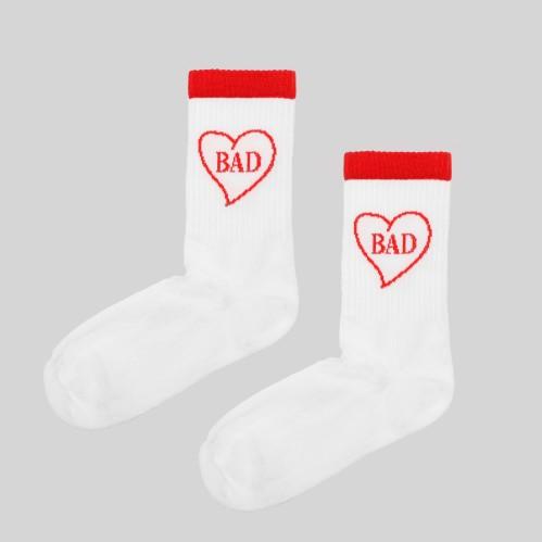 #10 Kojinės BAD, baltos